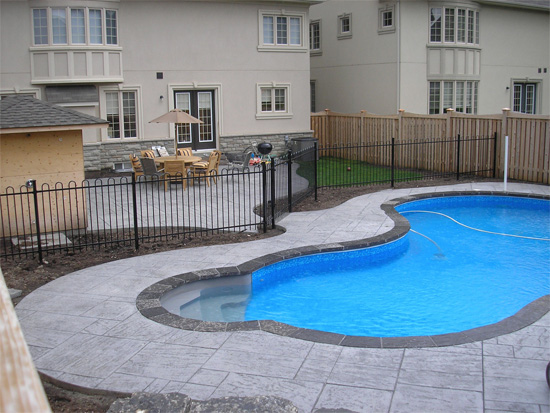 Pool landscaping Thornhill