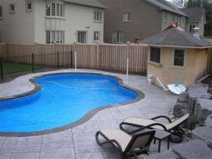 pool landscaping richmond hill